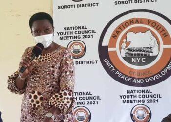 NRM Director for Mobilization, Cadre Development and Recruitment Rosemary Seninde