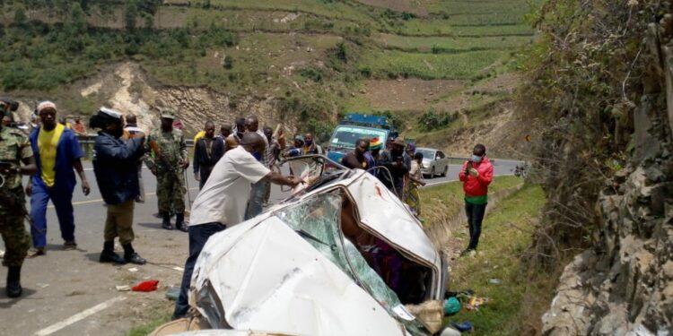 Kisoro Road accident