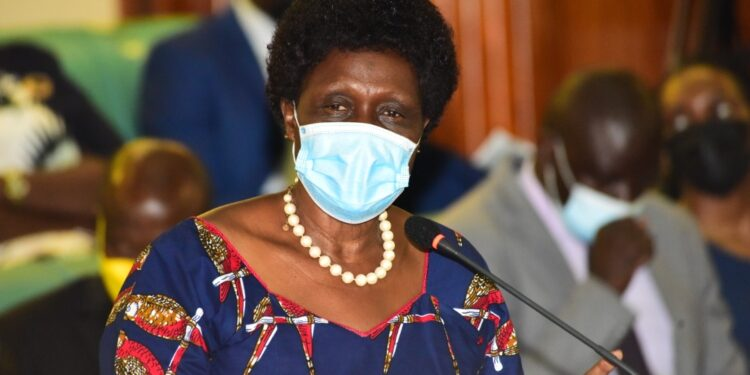 Beatrice Anywar, the Minister of State for Water and Environment