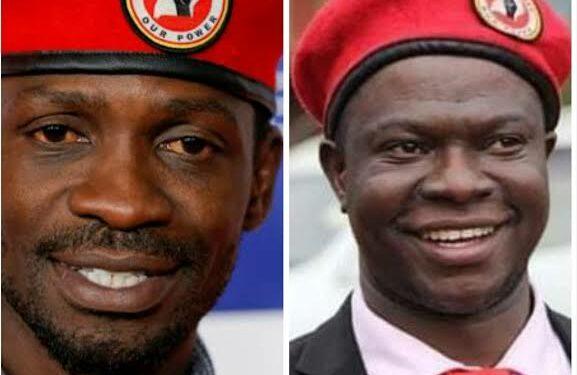 Bobi Wine and Muhammad Ssegirinya