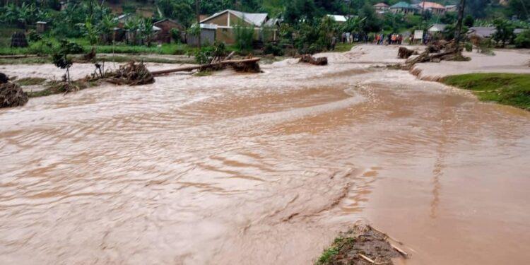 Heavy downpour in Rubanda