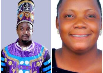 The Kyabazinga of Busoga William Wilberforce Gabula Nadiope IV and Princess Kadogo