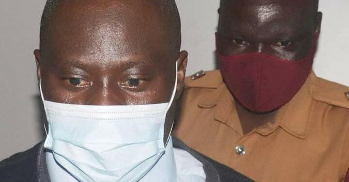 Godfrey Kazinda in Court