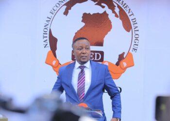 Joseph Kabuleta during the launch of NEED