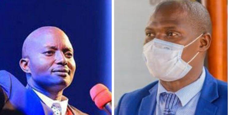 Pastor Bugingo and Minister Kyofatogabye Kabuye