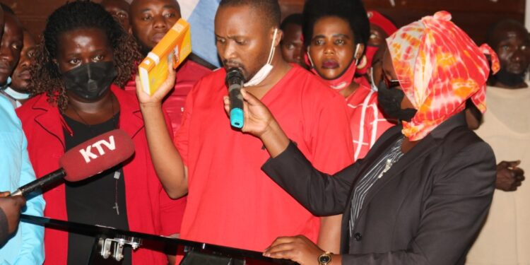 James Mubiru swears in as Lubaga North councillor