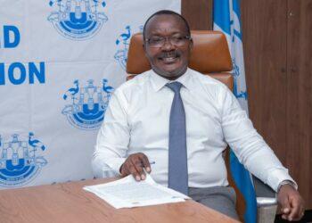 NWSC Managing Director Dr Silver Mugisha