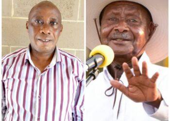 Juma Kigongo and President Museveni