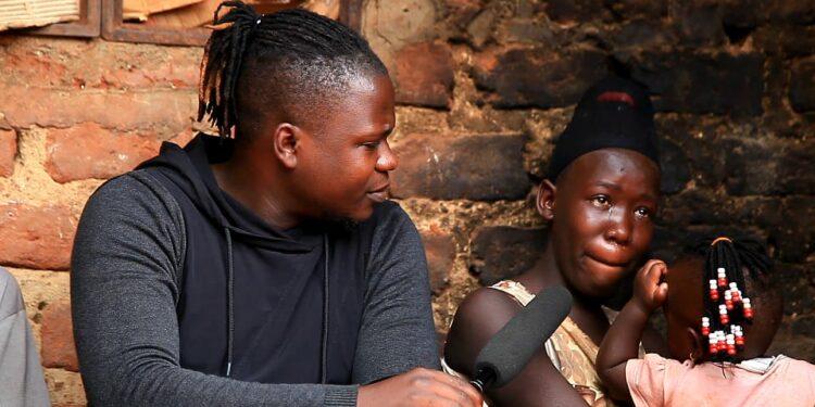 Youtube Journalist Settumba Herbert aka Herbie King Uganda with Rose Nabunnya