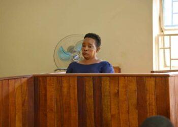 Namirembe Bwanga Bwamirembe at Luwero Chief Magistrates Court on Wednesday