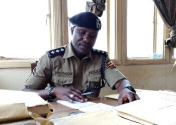 Southern regional Police Spokesperson Muhammad Nsubuga