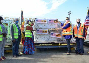 USA donated 1.6 million doses of Pfizer vaccine to Uganda