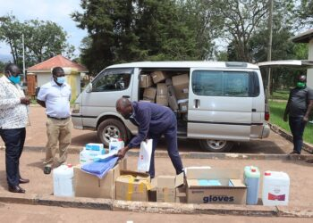 USAID donates medical supplies to Kabale