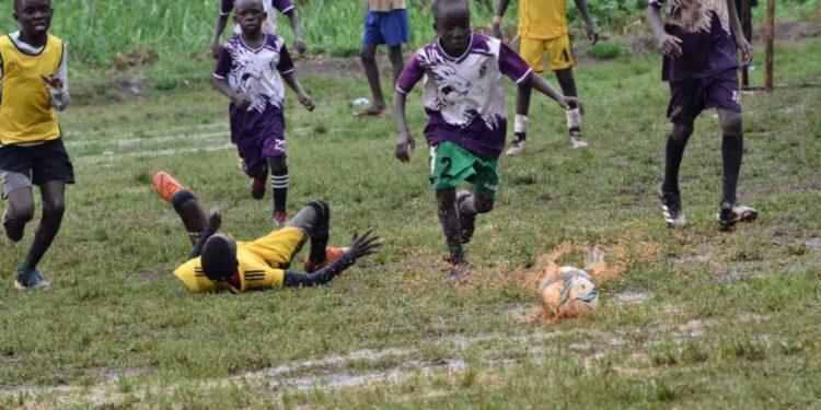 Action during the Genesis Invitational Championship at Kasedde Memorial Grounds in Ngandu, Mukono District