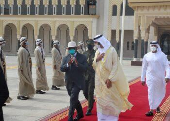 President Museveni leaves Dubai