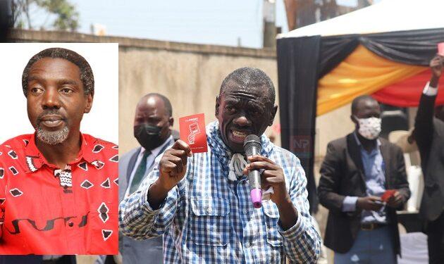 Omukulembeze wa UPC Jimmy Akena mu katono, ne Dr. Besigye gwe baagala  yeetonde