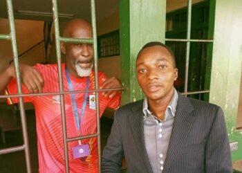 Isma Olaxess behind bars