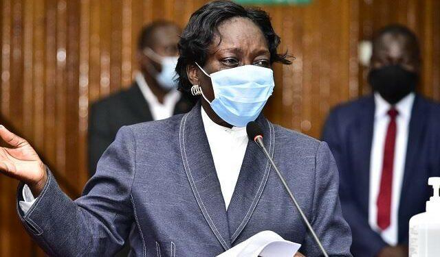Former Speaker of Parliament Rebecca Kadaga