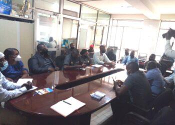 KACITA members meeting Uganda Airlines officials
